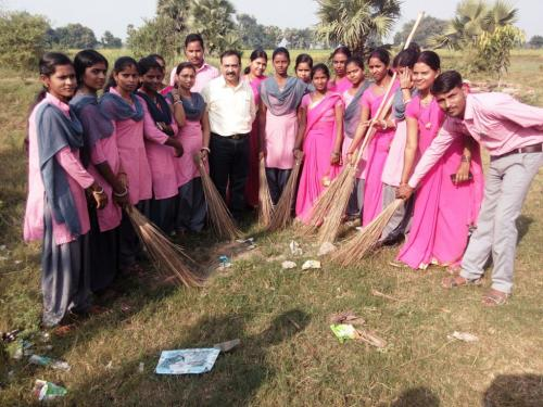 Brooming for Clean India